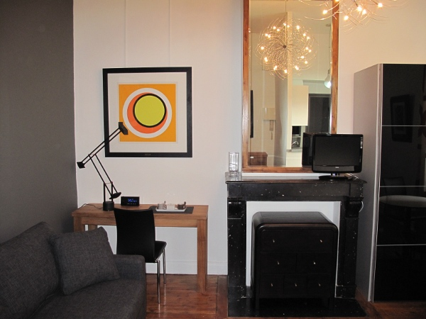 Luxury furnished studio flat 25m² rental Valenciennes