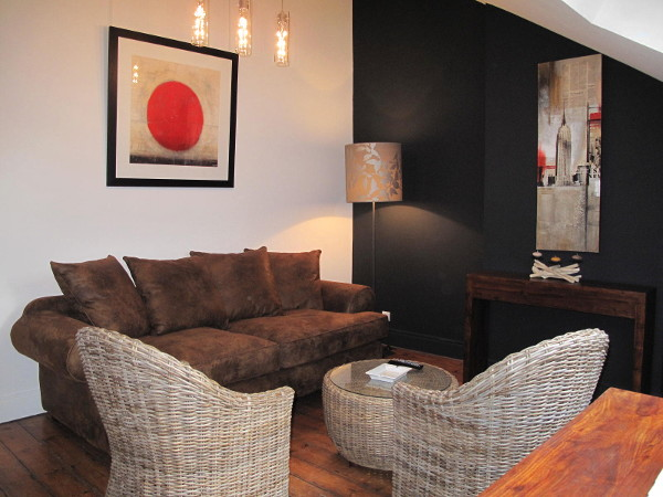 1 bedroom fully furnished apartment 48 sqm to rent Valenciennes
