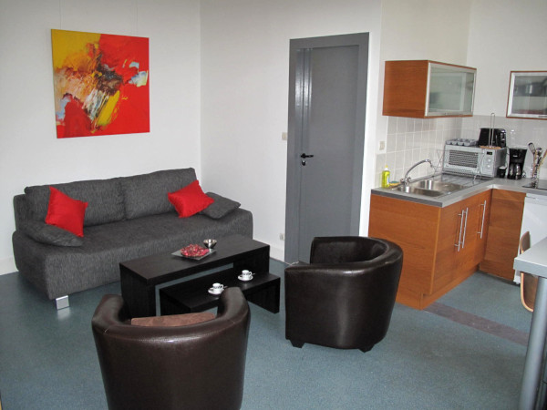 Furnished studio flat 25m² rental Valenciennes