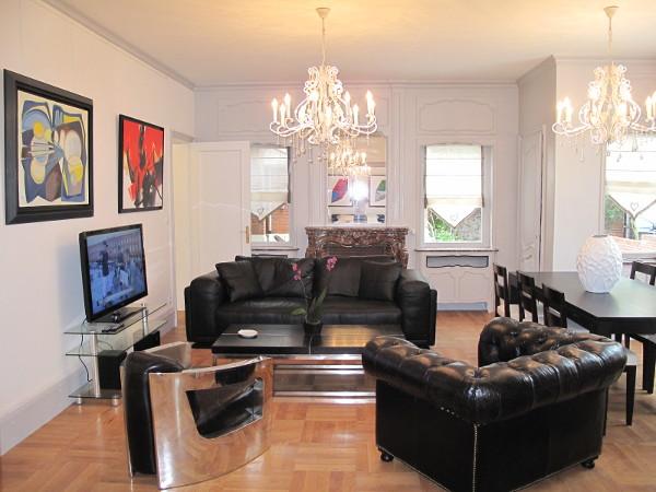 Appartamento arredato al pianterreno con 2 camere 96 5mq - Immagini terrazzi arredati ...