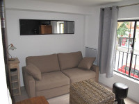 Small fully furnished studio apartment 15sqm to rent Valenciennes