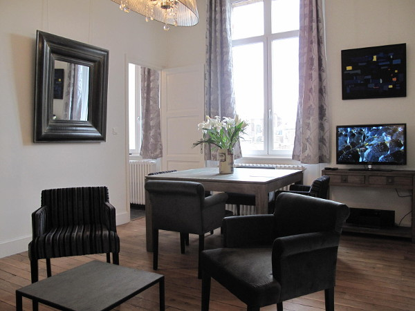 1 bedroom furnished apartment 39m² rental Valenciennes