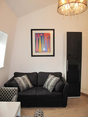 Furnished studio flat 17,5 m² for rent Valenciennes