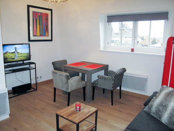 Furnished studio apartment 24 sqm rental Valenciennes