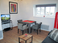 Furnished studio apartment 24 sqm to rent Valenciennes