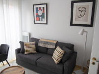 Fully furnished studio apartment 21m² rental Valenciennes