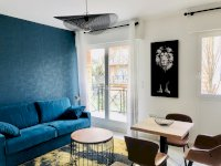 Luxury furnished studio apartment 27sqm with balcony for rent Valenciennes
