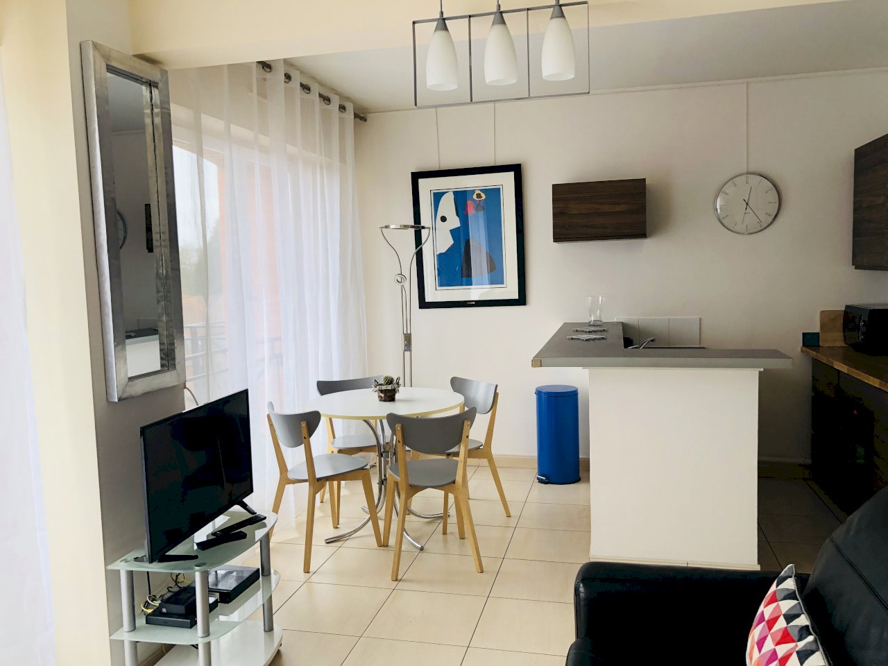 Furnished apartment 36.20m² + 6m² balcony + underground ...