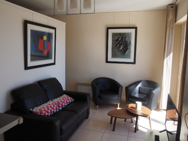 Furnished apartment 36.20m² + 6m² balcony + underground car park rental Valenciennes